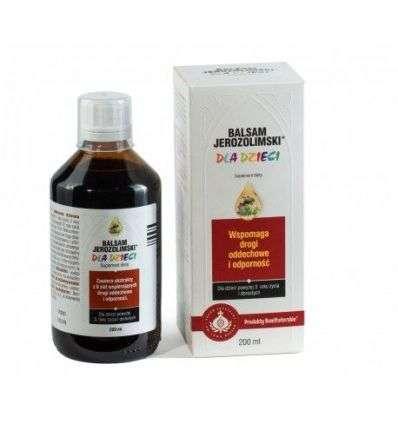 Balsam Jerozolimski dla dzieci syr - 200ml - Produkty Bonifraterskie