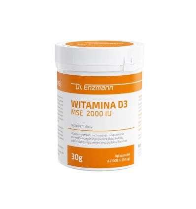 Witamina D 2000IU Dr Enzmann - 90 kaps - MSE Pharmazeutika