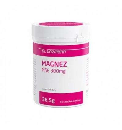 Magnez MSE 300 mg Dr Enzmann - 60 kaps - MSE Pharmazeutika