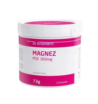 Magnez MSE 300mg Dr Enzmann - 120 kaps - MSE Pharmazeutika