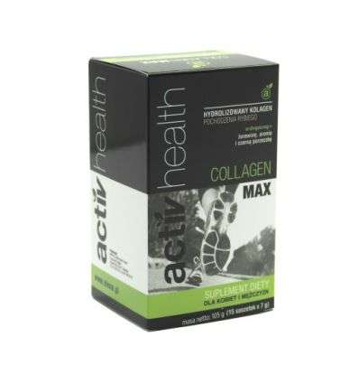 Activ Health kolagen hydrolizowany - 15 sasz - Elena