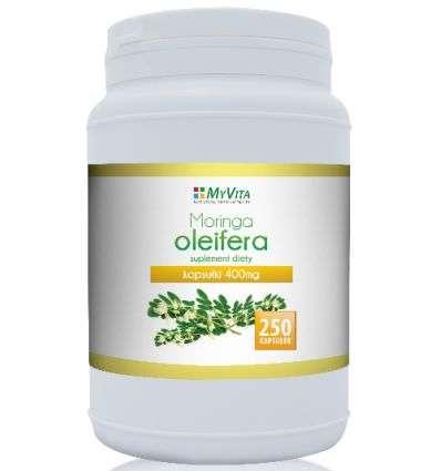 Moringa Oleifera 400mg - 250 kaps - My Vita