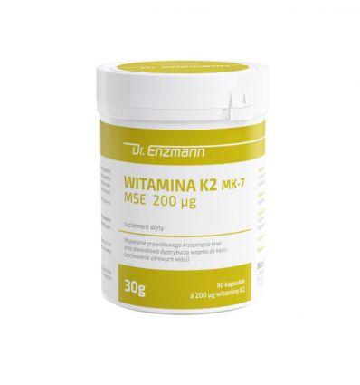Witamina K2 MK 7 Dr Enzmann - 90 kaps - MSE Pharmazeutika