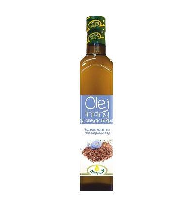 Olej lniany - 500ml - Kropla omega