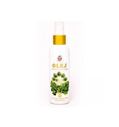 Olej z korzenia łopianu z ziołami - 150ml - Nami