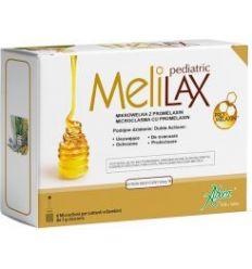 Melilax dla dzieci mikrowlewki - 6x5g - Aboca