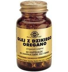 Olej z Dzikiego Oregano - 60kaps - Solgar