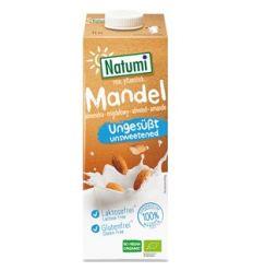 Napój migdałowy bez dodatku cukrów bezglutenowy BIO - 1l - Natumi