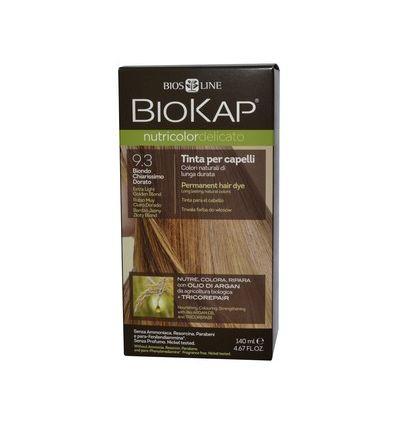 Nutricolor Delicato 9.3 Bardzo Jasny Złoty Blond - 1 szt - Biokap
