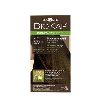 Nutricolor Delicato 6.3 Ciemny Złoty Blond - 1 szt - Biokap