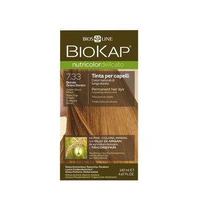 Nutricolor Delicato 7.33 Pozłacany Blond - 1 szt - Biokap