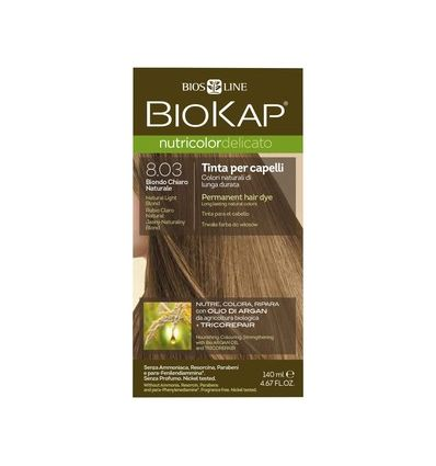 Nutricolor Delicato 8.03 Jasny Naturalny Blond - 1 szt - Biokap