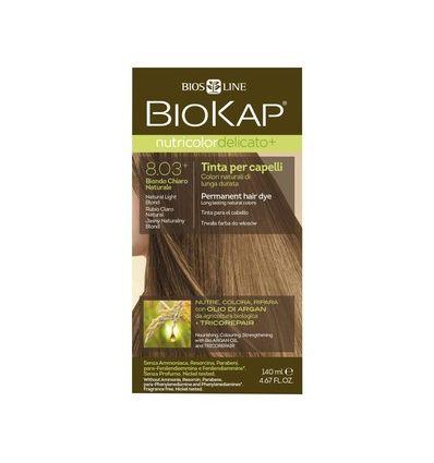 Nutricolor Delicato 8.03 plus Jasny Naturalny Blond - 1 szt - Biokap