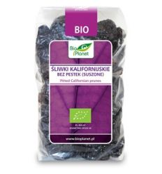 Śliwki kalifornijskie bez pestek (suszone) bio - 400g - Bio Planet