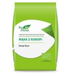Mąka z konopi bio - 400g - Bio Planet