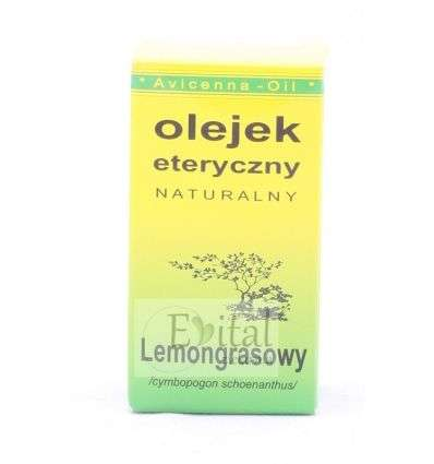 Olejek eteryczny lemongrasowy - 7ml - Avicenna