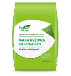 Mąka ryżowa pełnoziarnista bio - 500g - Bio Planet