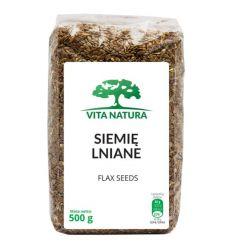 Siemię lniane - 500g - Vita Natura