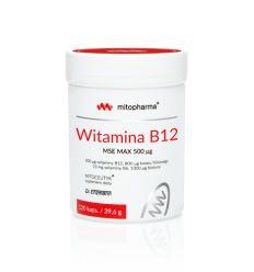 Witamina B12 MSE MAX 500uq - 120kaps - Mitopharma