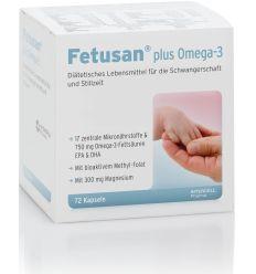 Fetusan plus Omega 3 - 72kaps - Intercel Pharma GmbH