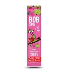 Przekąska Bob snail o smaku jabłko - malina - 14g - Stewiarnia