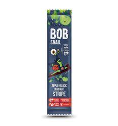 Przekąska Bob snail o smaku jabłko - czarna porzeczka - 14g - Stewiarnia