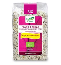 płatki 4 zboża - 300g - Bio Planet