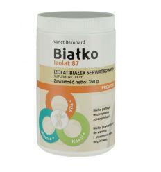 Białko Izolat 87 izolat białek serwatkowych - 350g - Sanct Bernhard
