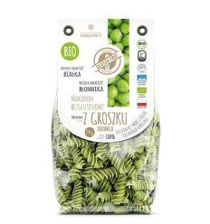 Makaron bezglutenowy z groszku zielonego świderek bio - 250g - Fabijańscy