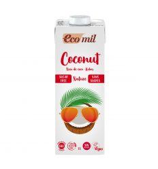 Mleko kokosowe niesłodzone bio - 1l - Ecomil