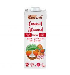 Mleko kokosowo - migdałowe niesłodzone bio - 1l - Ecomil