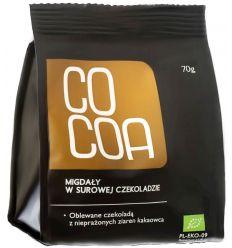 Migdały w Surowej Czekoladzie Bio - 70g - Cocoa