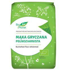 Mąka gryczana pełnoziarnista bio - 1kg - Bio Planet
