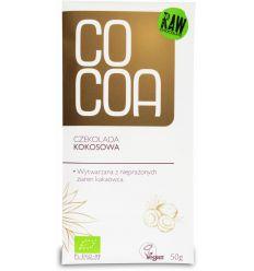 Czekolada Kokosowa Bio - 50g - Cocoa