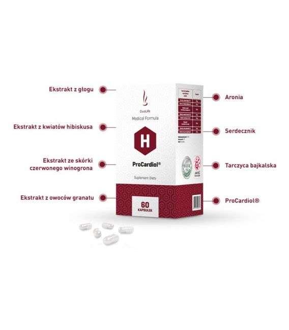 ProCardiol - 60 kaps - Duolife