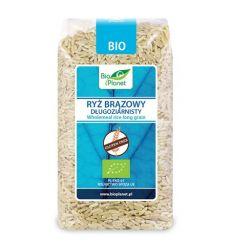 Ryż Brązowy Długoziarnisty Bezglutenowy Bio - 500g - Bio Planet