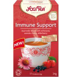 Herbatka Na Odporność Bio - 17x2g - 34g - Yogi Tea