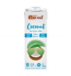 Napój Kokosowy z Wapniem Bez Cukru Bio - 1L - Ecomil