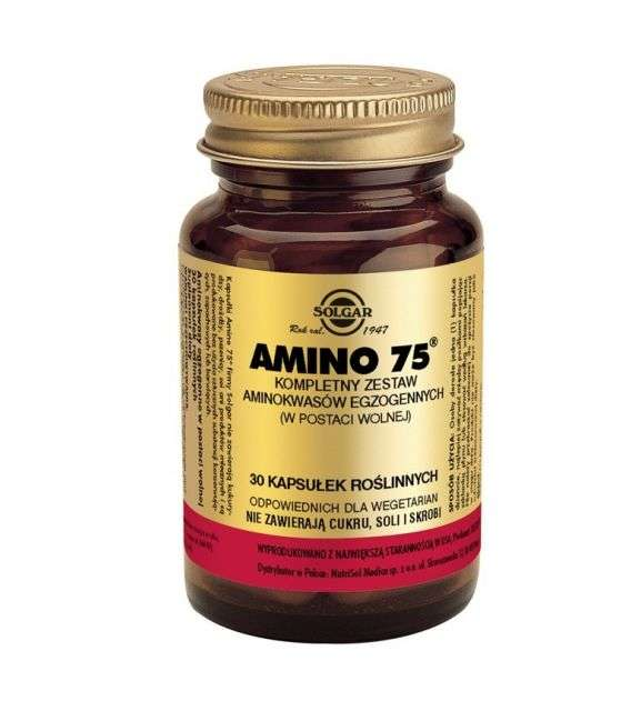 Amino 75 - 30kaps - Solgar