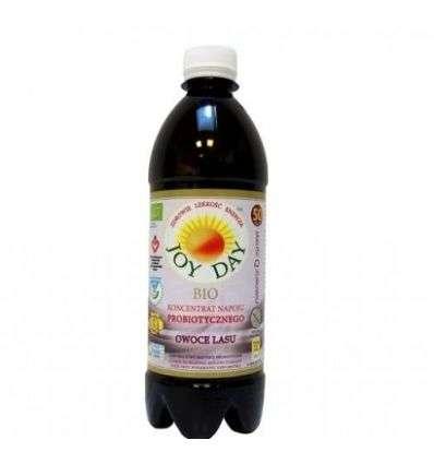 Napój probiotyczny JOY DAY owoce lasu - 500ml - Aka