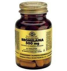 Bromelanina 500mg - 30tabl - Solgar