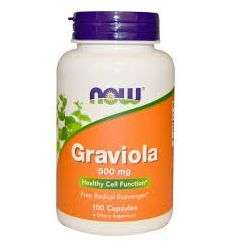 GRAVIOLA - 100 KAPS - Now