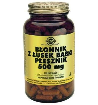 Błonnik z Łusek Babki Płesznik 500mg - 200kaps - Solgar