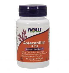 Astaxanthin Astaksantyna 4mg - 60kaps - Now Foods