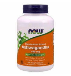 Ashwagandha Extrakt 450mg - 180kaps - Now Foods