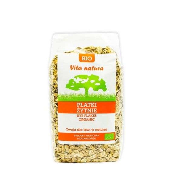 Płatki żytnie bio - 300g - Vita Natura