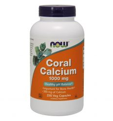 Coral Calcium 1000mg - 250kaps - Now Foods