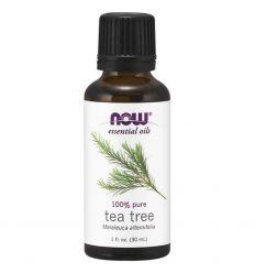 Olejek z Drzewa Herbacianego Tea Tree 100% Pure - 30ml - Now Foods
