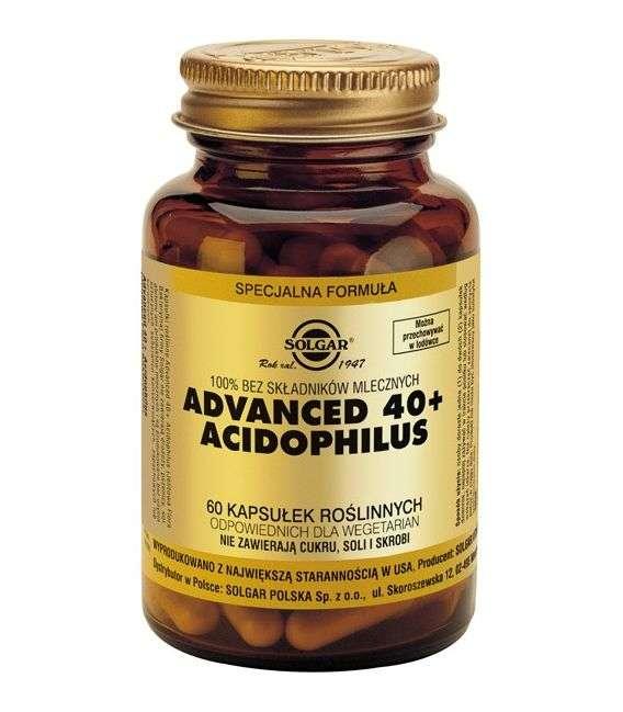 Advanced 40+ Acidophilus - 60kaps - Solgar