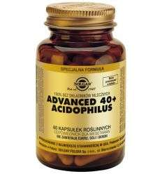 Advanced 40+ Acidophilus - 60kaps - Solgar